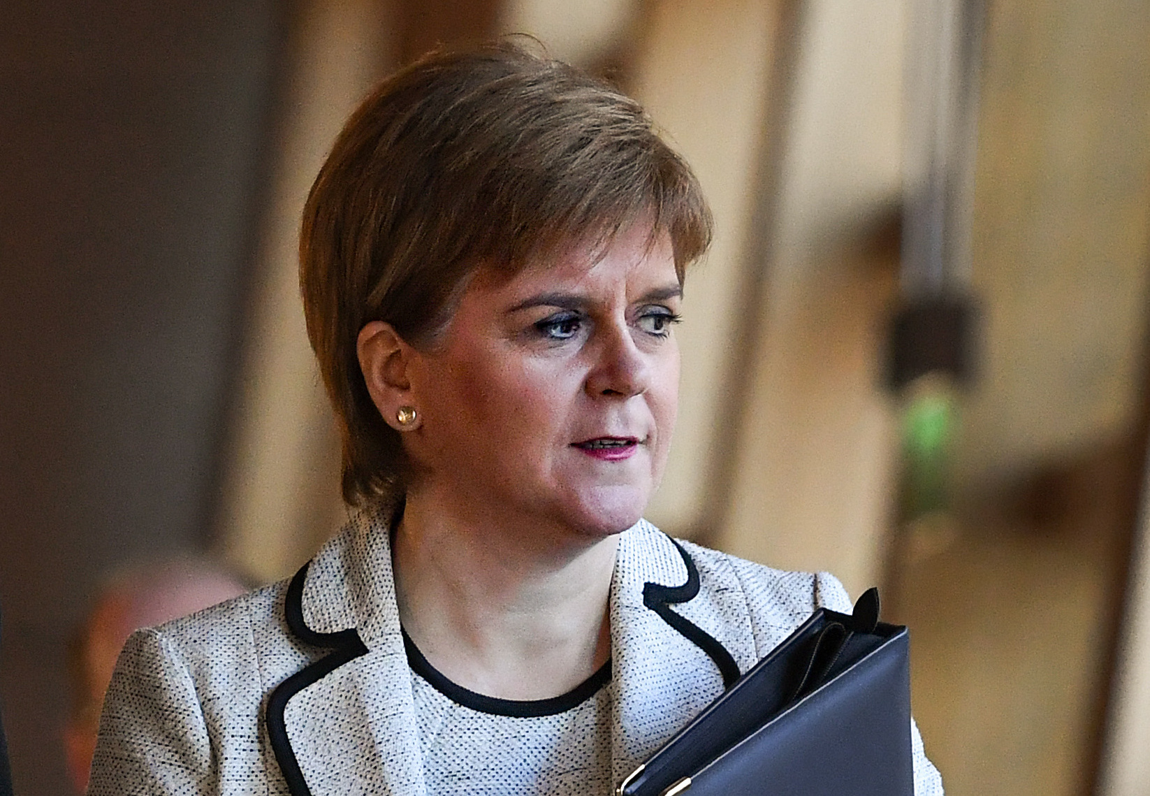 Nicola STurgeon was centre stage on TV on Wednesday evening explaining her personal anger at Scotland's exclusion